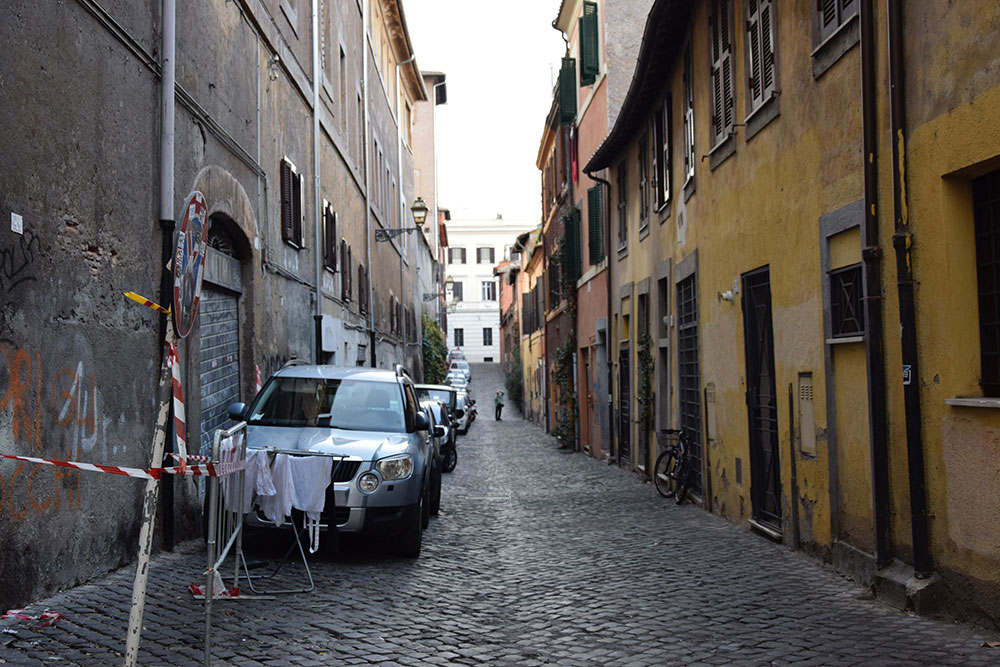 Walking Tour in Trastevere and Tiberin Island