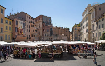Walking Tour in Campo de' Fiori and the roman Ghetto