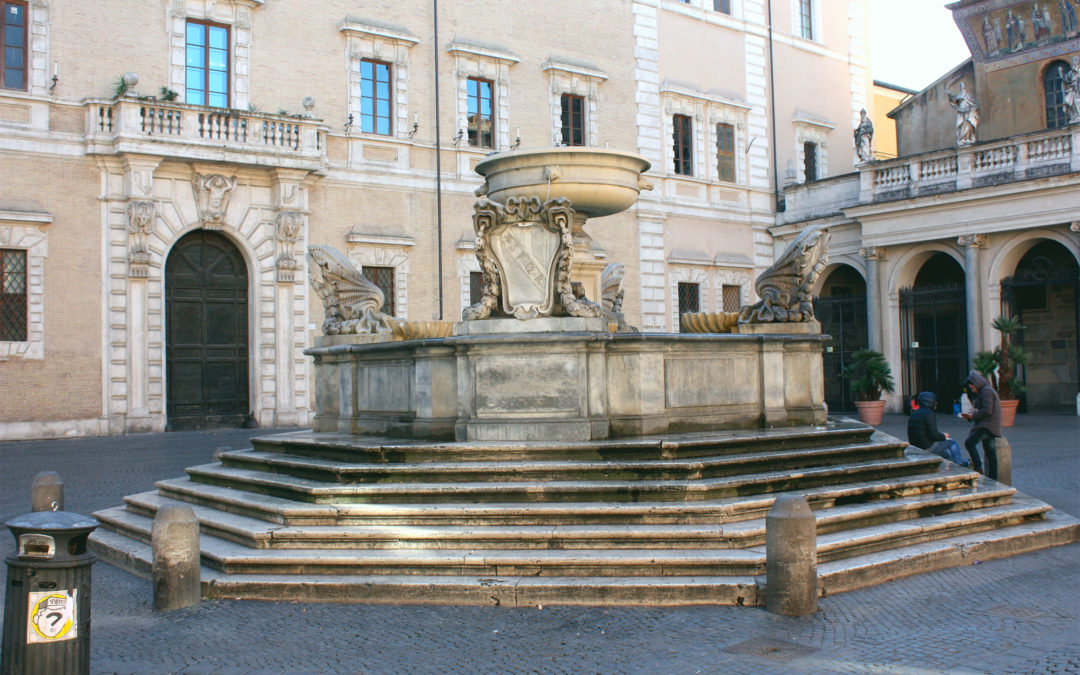 S. Maria in Trastevere and the amazing story of a scisma and the way Innocent II celebrated his victory over his rival