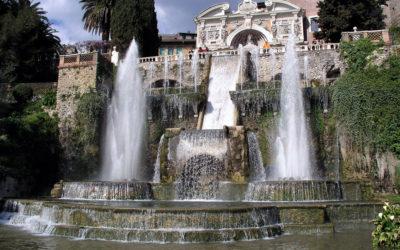 Excursion to Tivoli: Villa Adriana and Villa d'Este.